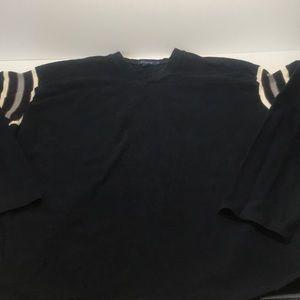 JCrew Vneck sweater light sweatshirt pullover XL